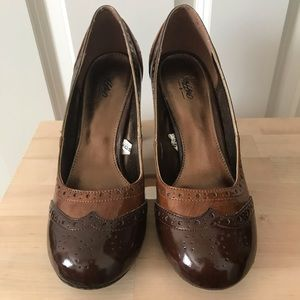Mossimo loafer style heel